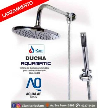 ducha aquamatic sanitarios kam